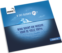Brochure webcommunicatie Mink