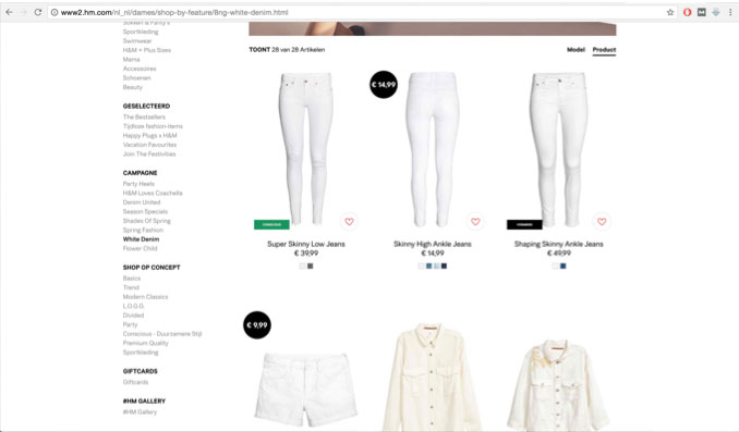 Website H&M