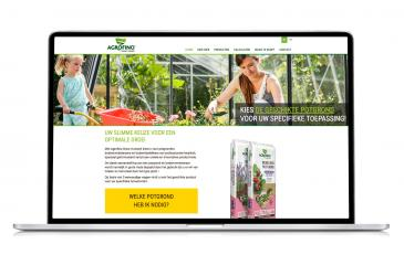 Ipad website Agrofino